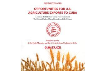 Informe en EEUU demuestra el beneficios de venta de alimentos a Cuba