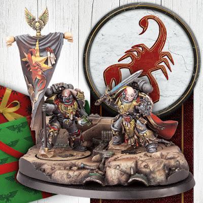 Warhammer Community hoy: Escorpiones Rojos, AS y UK Games Expo