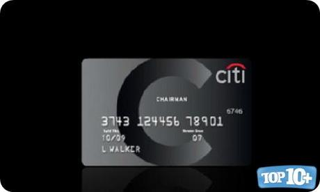 Citigroup Black Card Card-entre-las-10-tarjetas-de-creditos-de-lujo