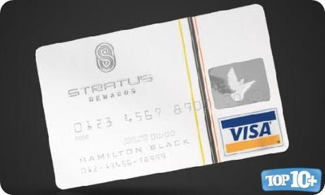 Stratus Rewards Visa-entre-las-10-tarjetas-de-creditos-de-lujo