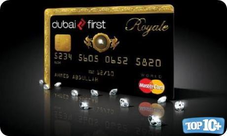 Dubai First Royal MasterCard-entre-las-10-tarjetas-de-creditos-de-lujo