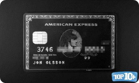 American Express Centurion Card-entre-las-10-tarjetas-de-creditos-de-lujo