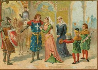 Infanta, Reina, Regente y Santa.