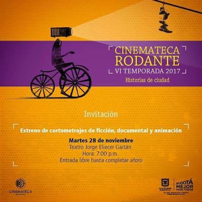 Lanzamiento Cinemateca Rodante 2017