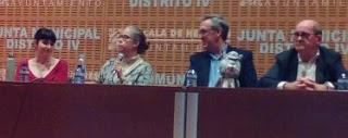 segunda mesa del encuentro de autores