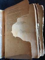 Restaurando libros. El papel