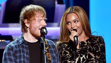 Ed Sheeran y Beyoncé cantan juntos