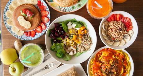 Pinale Coffee Shop & Salad Bar, el restaurante de las personas que siguen un estilo de vida saludable