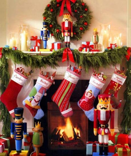 Tradiciones navideñas: Calcetines colgados