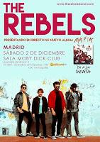 Concierto de The Rebels en Moby Dick Club