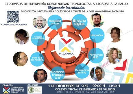 """II Jornada de Enfermería sobre TIC aplicadas a la Salud: """"mejorando los cuidados"""" #NTICSalud17"""
