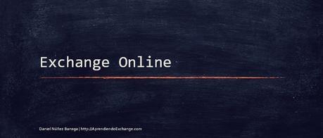 Qué es Exchange Online?