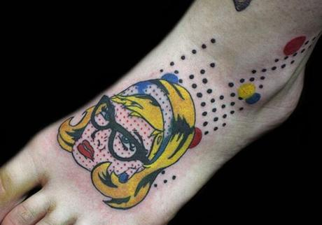tatuaje-chica-retro