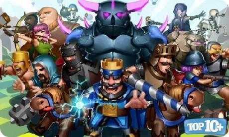 Clash Royale-entre-los-10-juegos-para-celulares-mas-descargados
