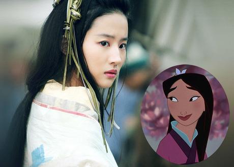 La actriz Liu Yifei, escogida por Disney para encarnar a la Mulán de carne y hueso