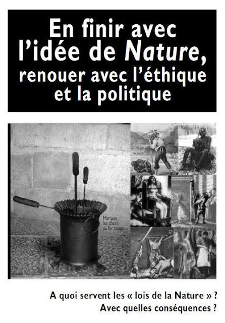 Para terminar con la idea de Naturaleza, reanudar con la ética y la política (Yves Bonnardel, 2005)