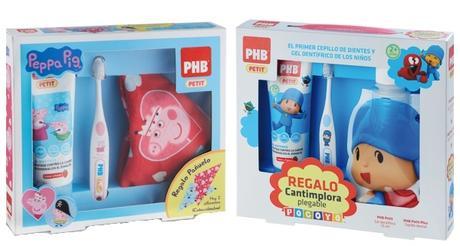 Regala Salud Buco-dental a los más Pequeños con los Packs de Peppa Pig y Pocoyo de PHB