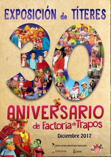 Exposición de Títeres: '30 aniversario de Factoría de Trapos'