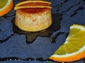 Flan naranja