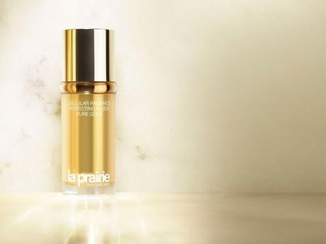 Oro líquido (literal), fluido perfeccionador con infusión de oro de La Prairie