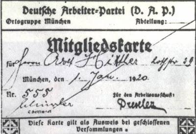 LA FUNDACIÓN DEL PARTIDO NAZI (NSDAP)