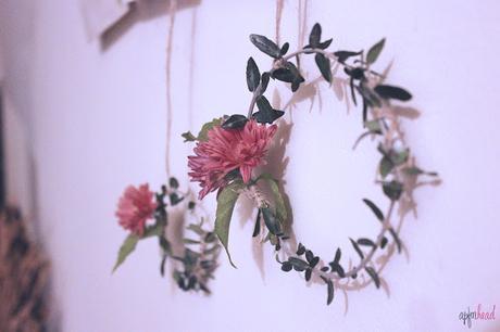DIY: corona natural para Navidad.
