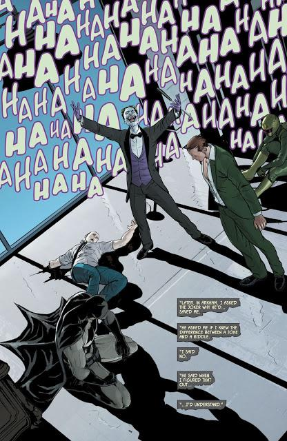 El Batman de Tom King 5: 'La Guerra de las Bromas y los Acertijos' (números 25 a 32 USA), con Mikel Janín y Clay Mann