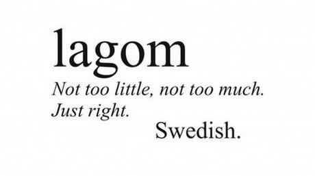 'Lagom' no es un mueble de Ikea… pero casi
