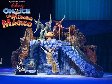 DISNEY ON ICE EN BARCELONA- UN  MUNDO MÁGICO