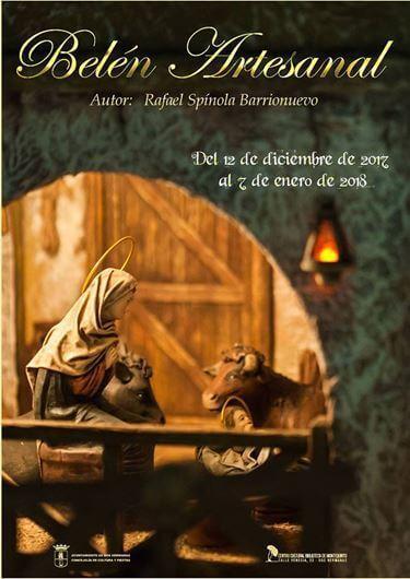 Belén Artesanal en la Biblioteca de Montequinto – Rafael Spínola