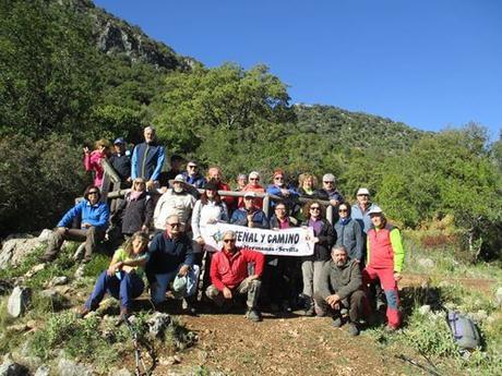 El Club Señal y Camino realizan la ruta de la Sierra de Archidona