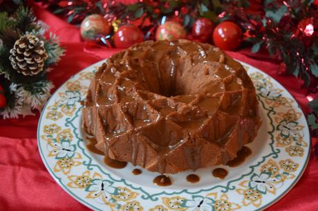Bundt Cake de Crema de Lotus