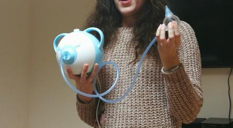 aspirador nasal eléctrico Nosiboo