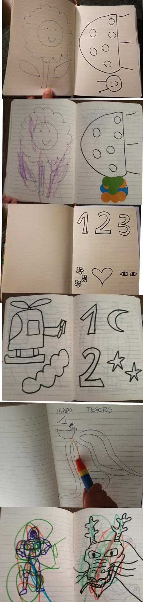 Cómo hacer vuestros propios cuadernos de vacaciones para los niños