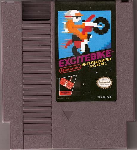 Excite Bike, clásico videojuego de carreras