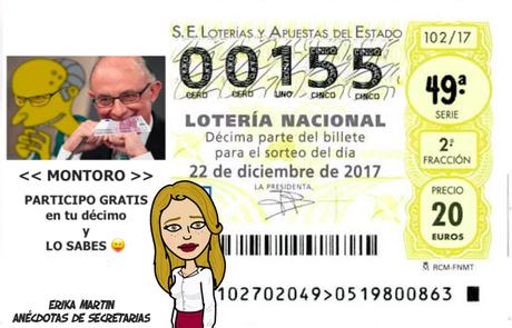 Lotería de Navidad en la empresa