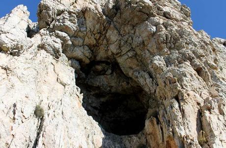 Entrada a la Cueva de la Mora