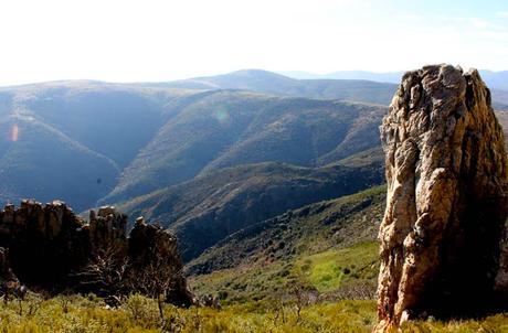 Panorámica desde la Cueva de la Mora
