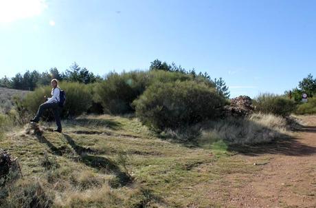 Desvío para comenzar a crestear Cueva de la Mora