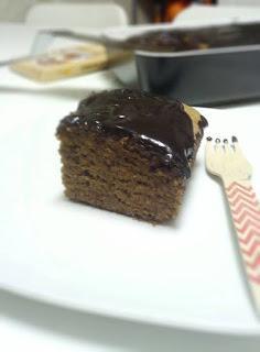 Bizcocho de chocolate y espelta
