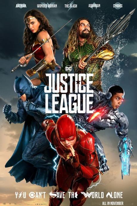 Liga de la Justicia (2017), uno para todos