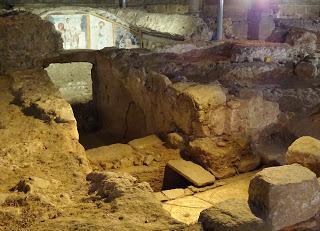 Imagen del mes: Cripta de la Basílica de Santa Eulalia, en Mérida