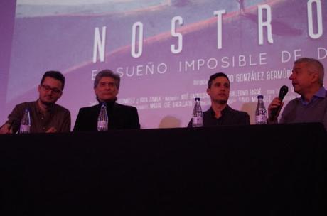 Rueda de prensa con Georges Corraface y Pedro González Bermúdez (El Sueño Imposible de David Lean)