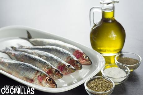 Receta de sardinas al horno con hierbas provenzales