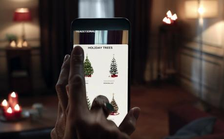 IKEA te enseña el mejor sitio para poner el árbol de Navidad con su app de realidad aumentada
