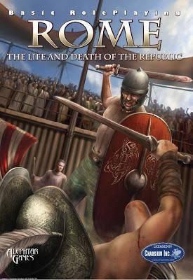 Rome BRP y Mythic Rome (Mythras System): Sucedido y sucesor