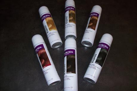 Probando el spray retoque expres de Colorcrem