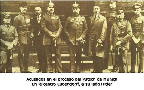 EL PUTSCH DE LA CERVECERÍA (1923)