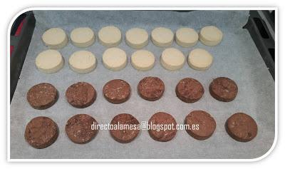 Polvorones de almendra (y chocolate)