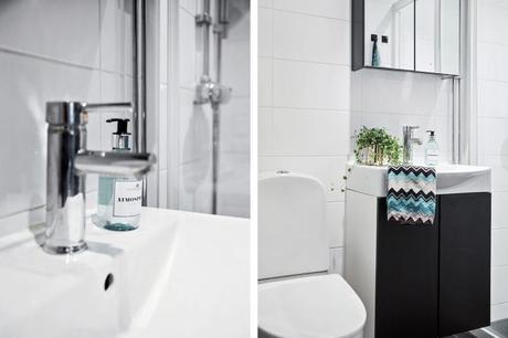 piso estocolmo nordico blanco puro estilo nórdico estilo escandinavo diseño interiores decoración pisos pequeños decoración minipisos decoración espacios pequeños decoración en blanco